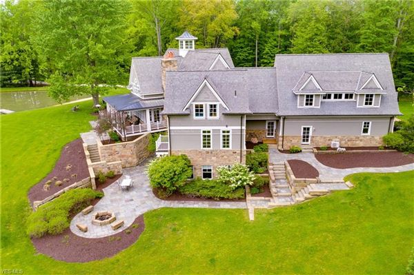 impeccable craftsman-style estate luxury homes