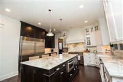 custom home at Barrington Country Club mansions