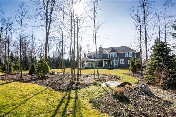 custom home at Barrington Country Club luxury homes