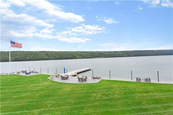 Luxury real estate One of a Kind Skaneateles Lakefront Compound