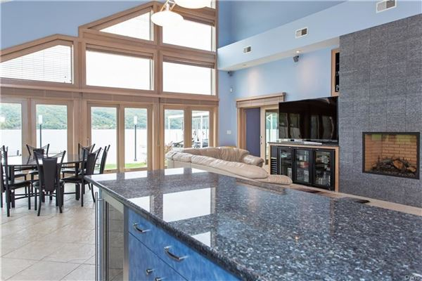 Mansions in One of a Kind Skaneateles Lakefront Compound