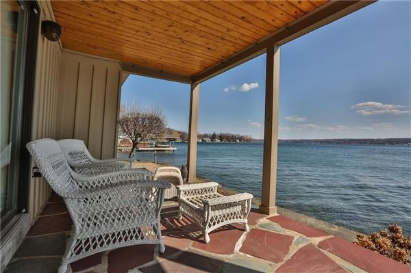 Luxury real estate spacious lake home with expansive  views