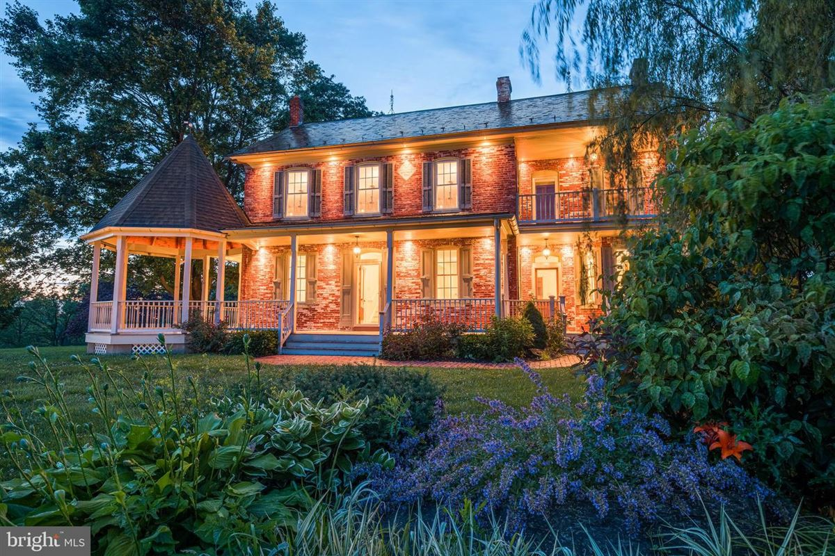200-year-old brick farmhouse luxury real estate
