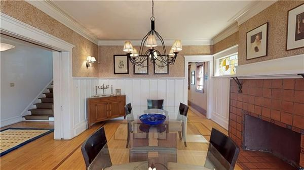 Absolutely gorgeous Arts and Craft style mini manse luxury real estate