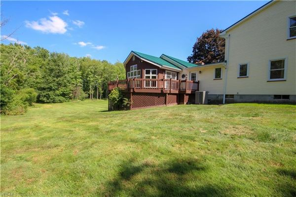 Luxury homes fantastic farm house sitting on beautiful large acres
