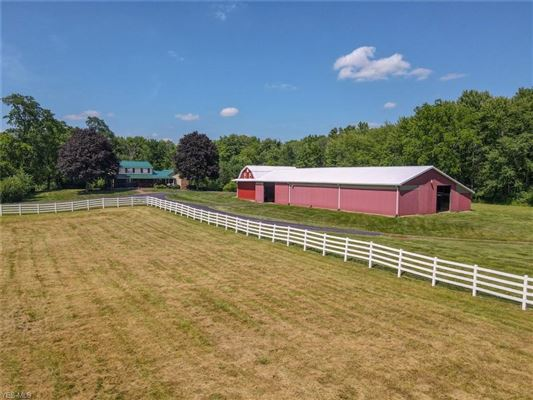 fantastic farm house sitting on beautiful large acres luxury real estate