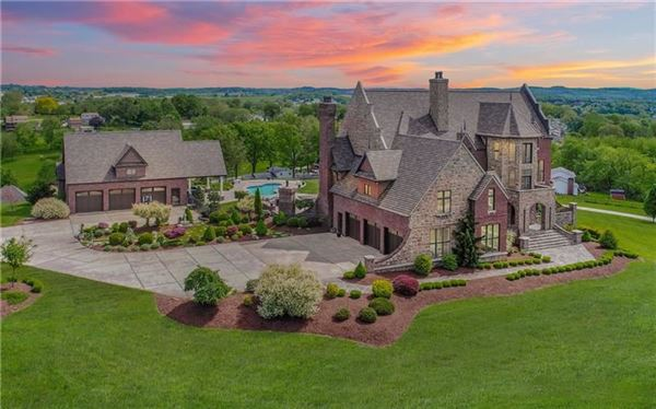 one-of-a-kind French Chateau style treasure luxury real estate