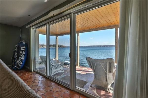 spacious lake home with expansive  views luxury real estate