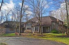stately home on five private wooded acres luxury real estate