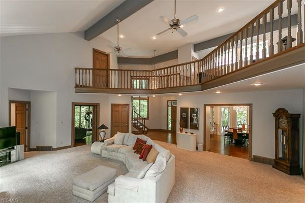 stately home on five private wooded acres luxury homes