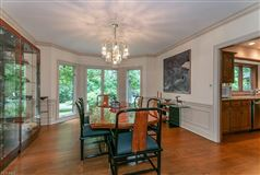 Luxury real estate stately home on five private wooded acres