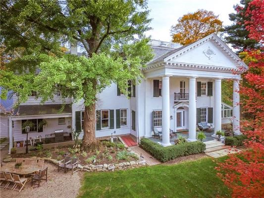 Luxury properties a Stately Sewickley Village home