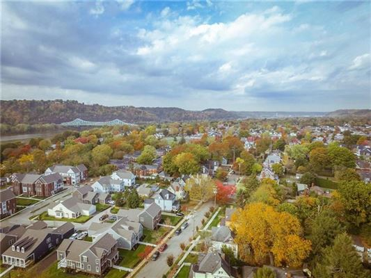 a Stately Sewickley Village home luxury properties