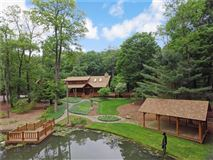 luxury log home on 69 exceptional wooded acres mansions