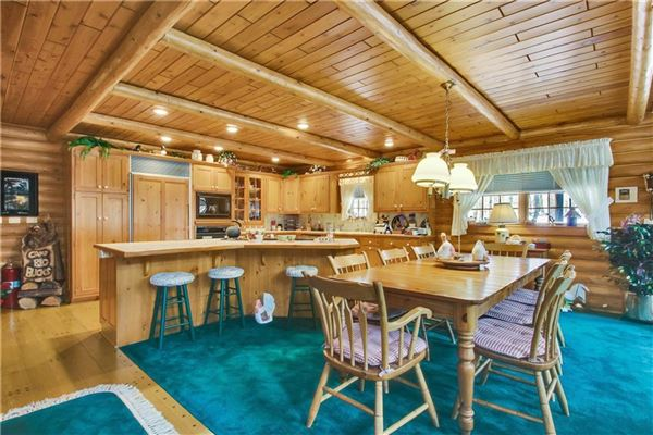 luxury log home on 69 exceptional wooded acres luxury real estate