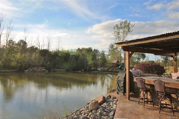 a 55 acre mini estate  luxury homes