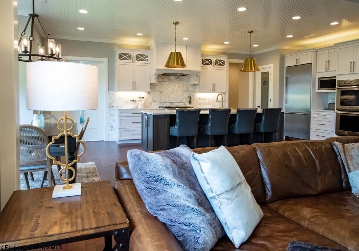 magnificent state of the art Cheat Lake residence luxury real estate