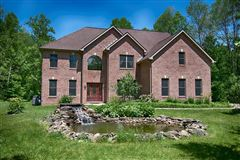 custom executive brick home on  over 68 acres mansions