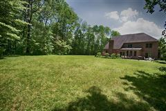 custom executive brick home on  over 68 acres luxury homes