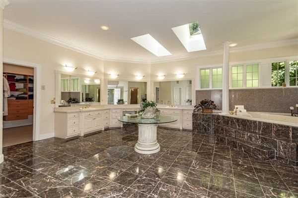Mansions in stately brick home on five wooded acres