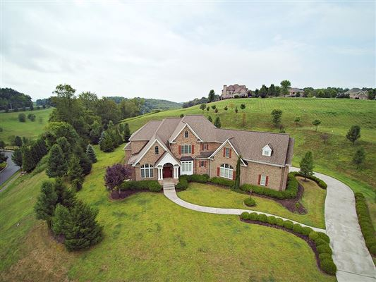 Luxury properties executive brick French Provincial