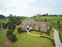 Luxury homes in executive brick French Provincial