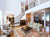 Luxury real estate executive brick French Provincial
