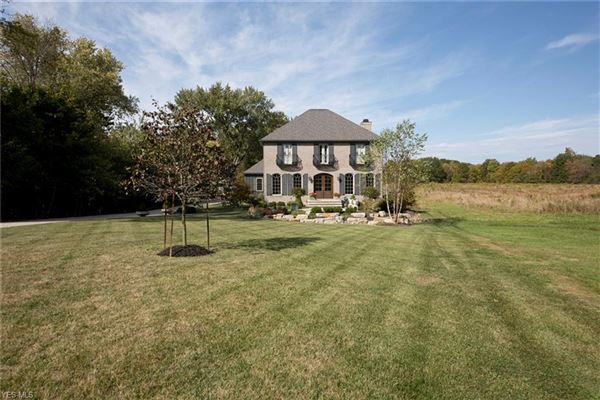 Luxury real estate one of a kind French country farmhouse
