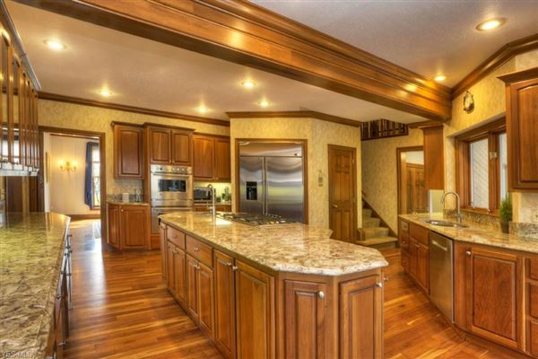 Luxury real estate updated Brick and Stone colonial