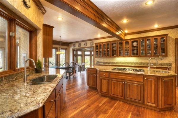 Luxury properties updated Brick and Stone colonial