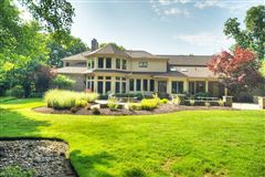 Luxury homes updated Brick and Stone colonial
