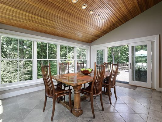Luxury real estate Unparalleled privacy on 10-plus wooded acres