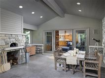Unparalleled privacy on 10-plus wooded acres luxury real estate