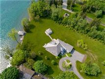 Magnificent Skaneateles waterfront estate mansions