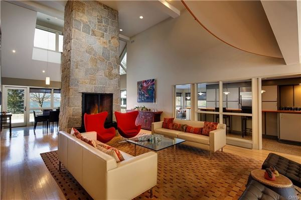 Magnificent Skaneateles waterfront estate luxury real estate