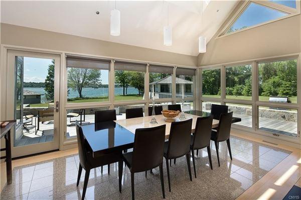 Magnificent Skaneateles waterfront estate luxury properties