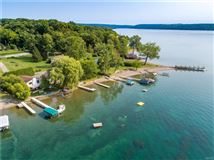 Mansions in Skaneateles Lakefront living