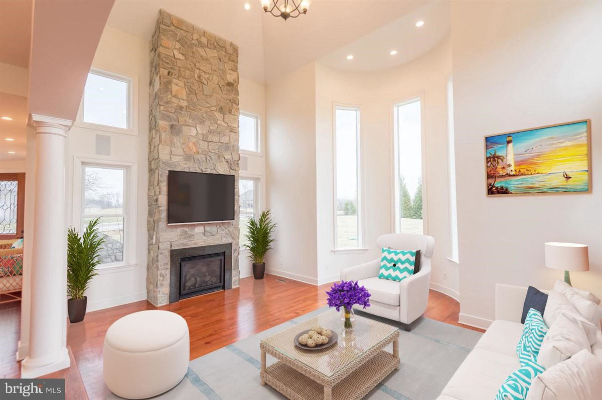 Gorgeous custom home nestled on threeacres in Derry Township luxury homes