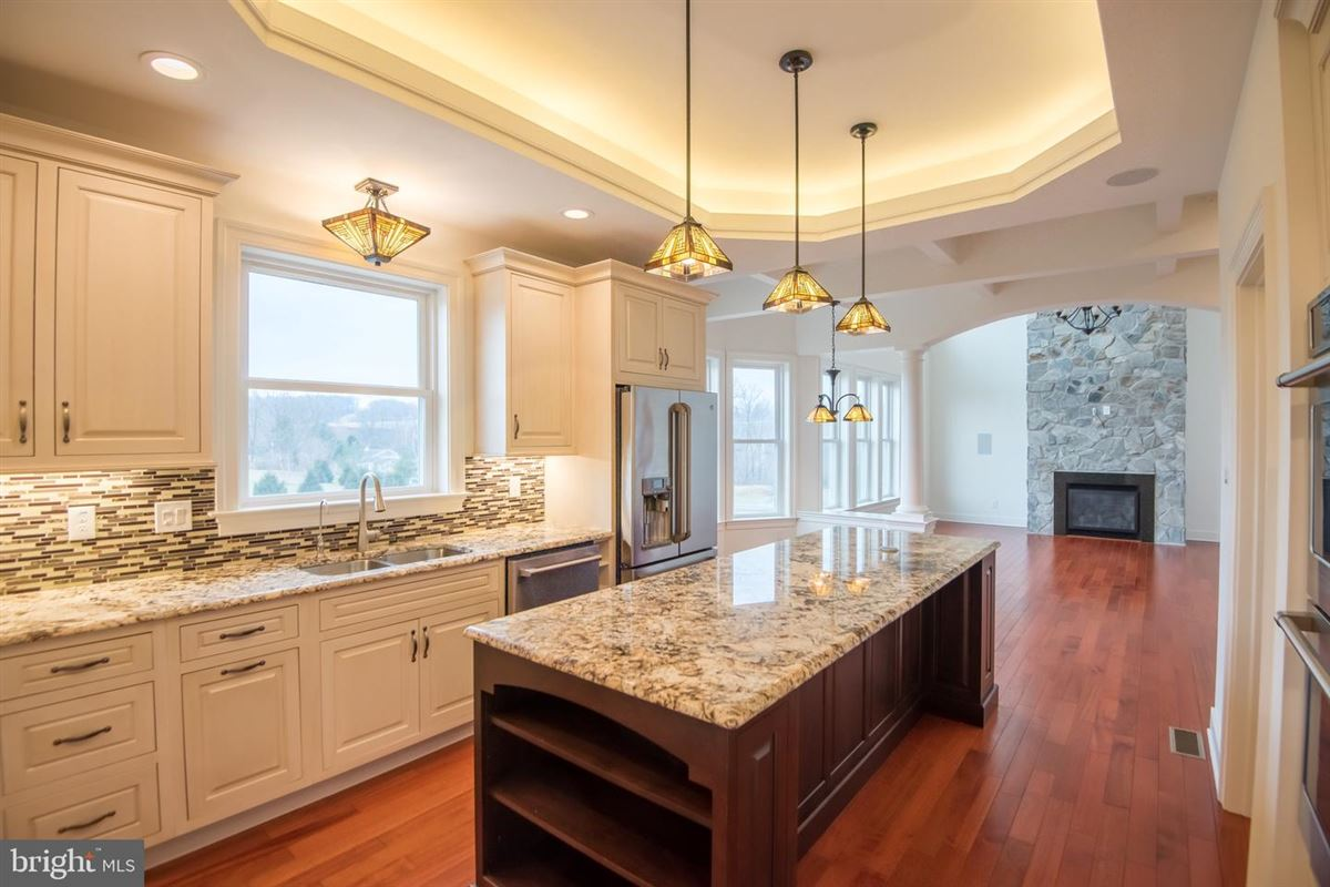 Luxury homes in Gorgeous custom home nestled on threeacres in Derry Township