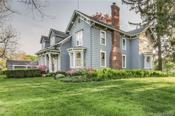 carefully refreshed 1840s Victorian Farmhouse luxury real estate