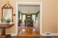 carefully refreshed 1840s Victorian Farmhouse luxury homes