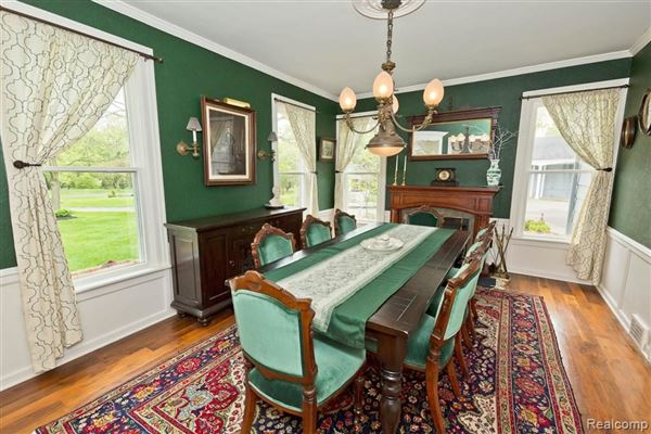 Luxury homes carefully refreshed 1840s Victorian Farmhouse