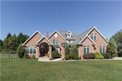 gorgeous two-story all brick home in a private setting mansions