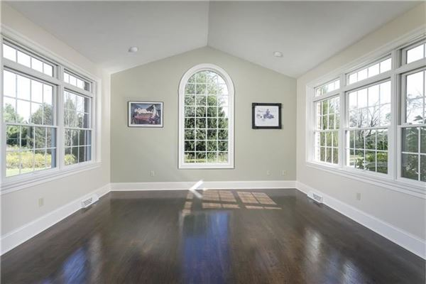 Luxury real estate gorgeous two-story all brick home in a private setting