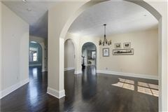 Luxury homes gorgeous two-story all brick home in a private setting