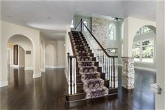gorgeous two-story all brick home in a private setting luxury properties