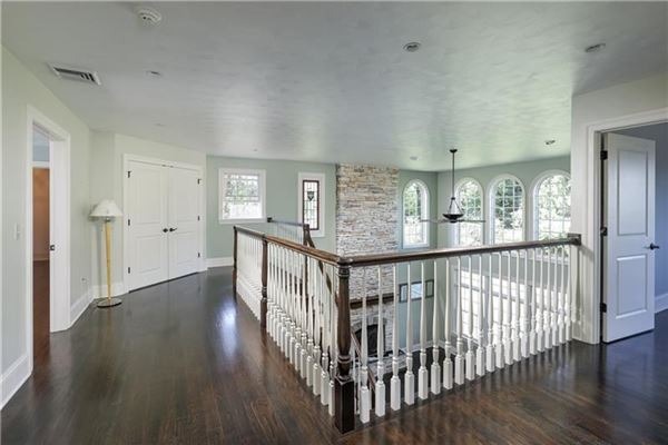 Mansions in gorgeous two-story all brick home in a private setting