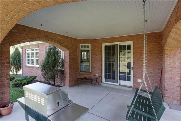 gorgeous two-story all brick home in a private setting luxury real estate