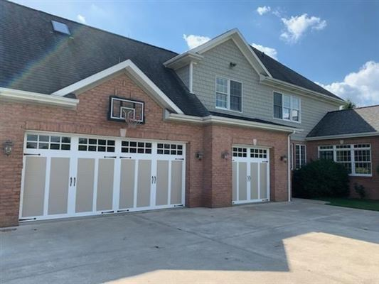 Luxury properties gorgeous two-story all brick home in a private setting