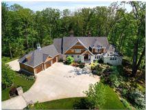 Extraordinary custom built Stone and Shingle Hamptons styled home  luxury real estate